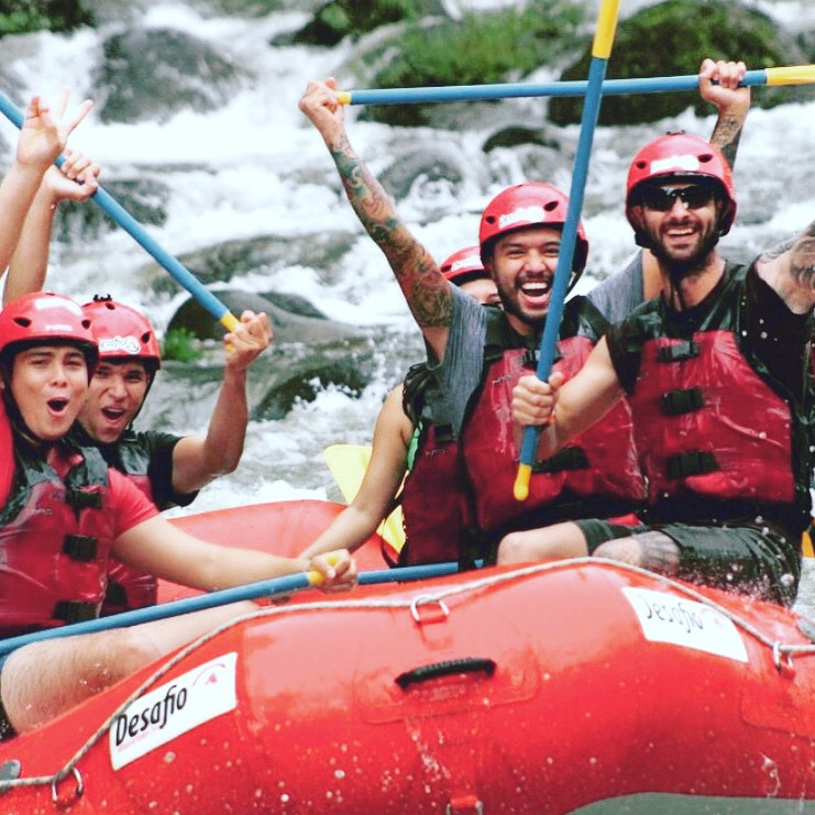 Be safe and have serious fun Costa Rica Vacation Rafting