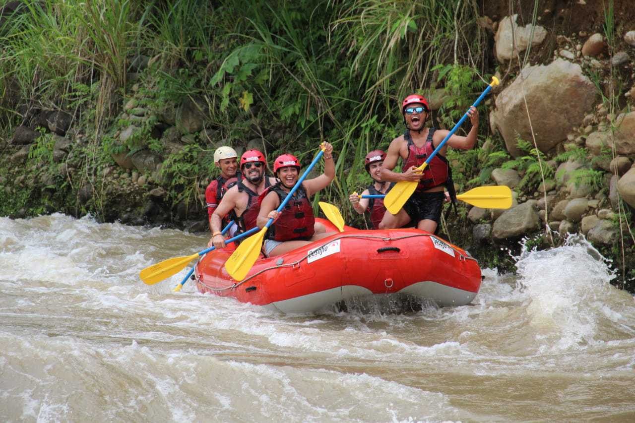 Be safe and have serious fun Costa Rica Vacation. Rainforest Rafting