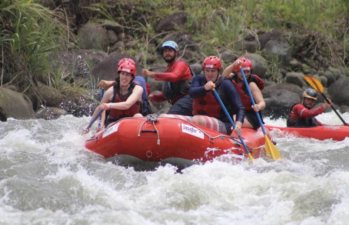 have serious fun Costa Rica Rafting