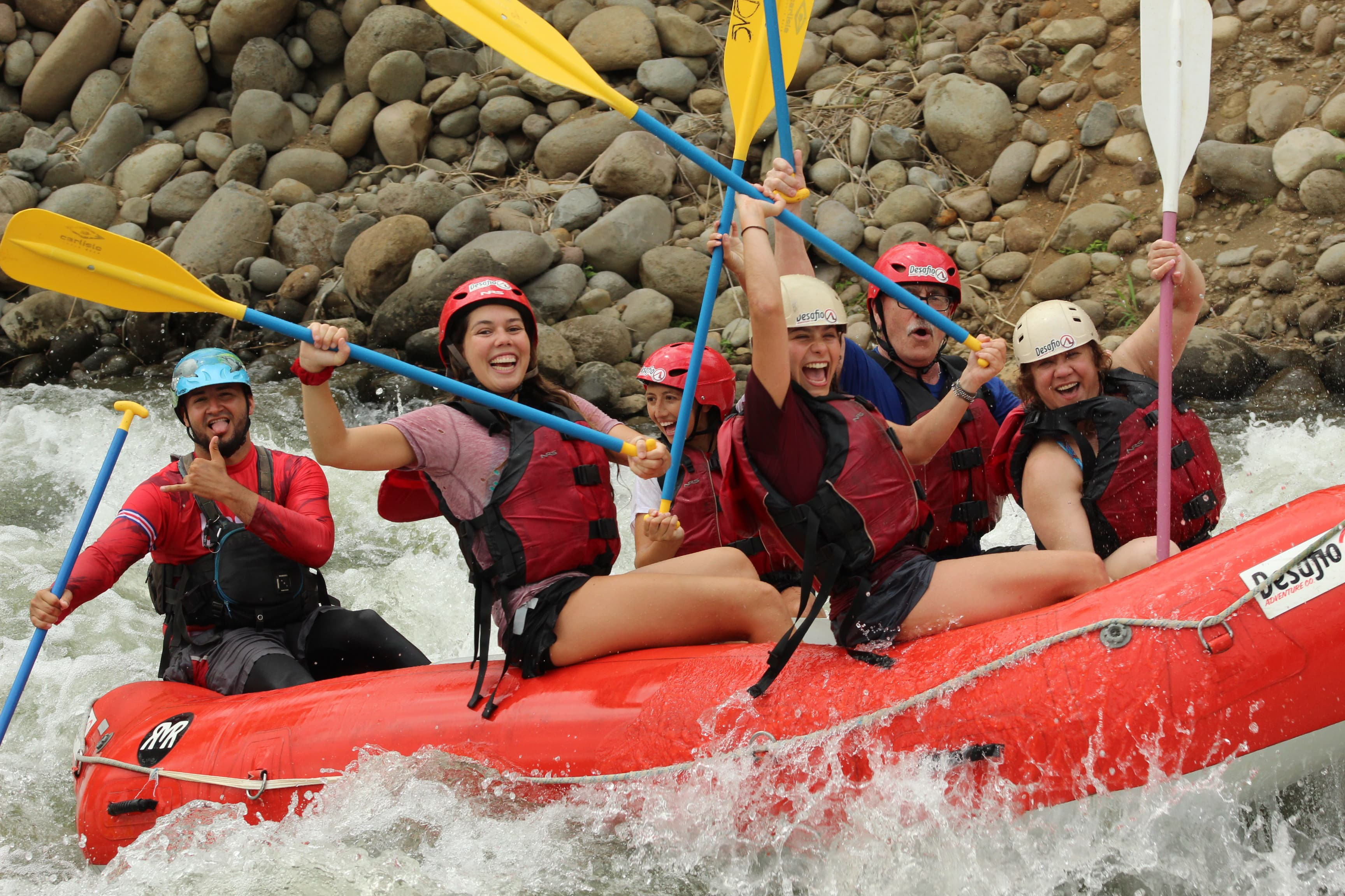Trip to Costa Rica! Safe Rafting Adventure Tours in Costa Rica!