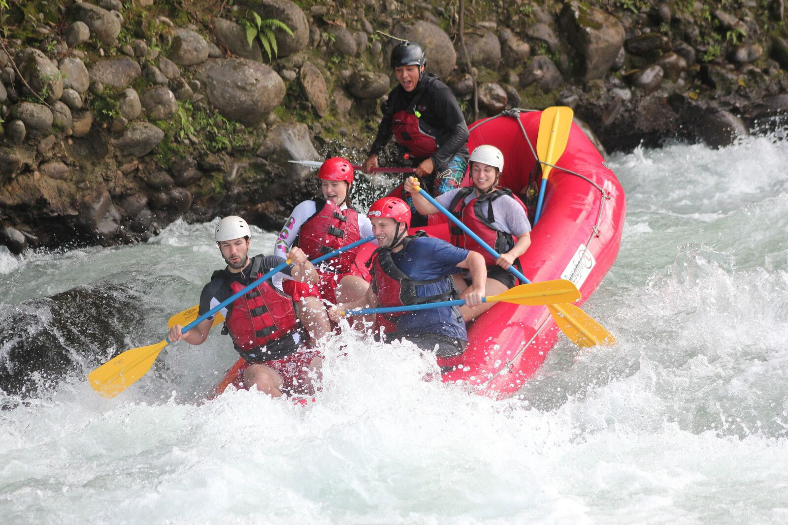 Rafting in Costa Rica. Vacation