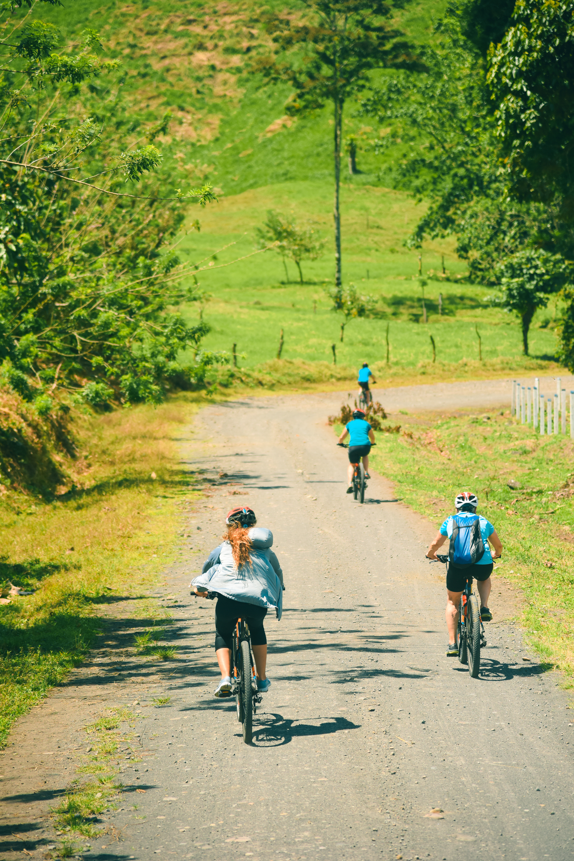 The best route for mountain biking in Costa Rica