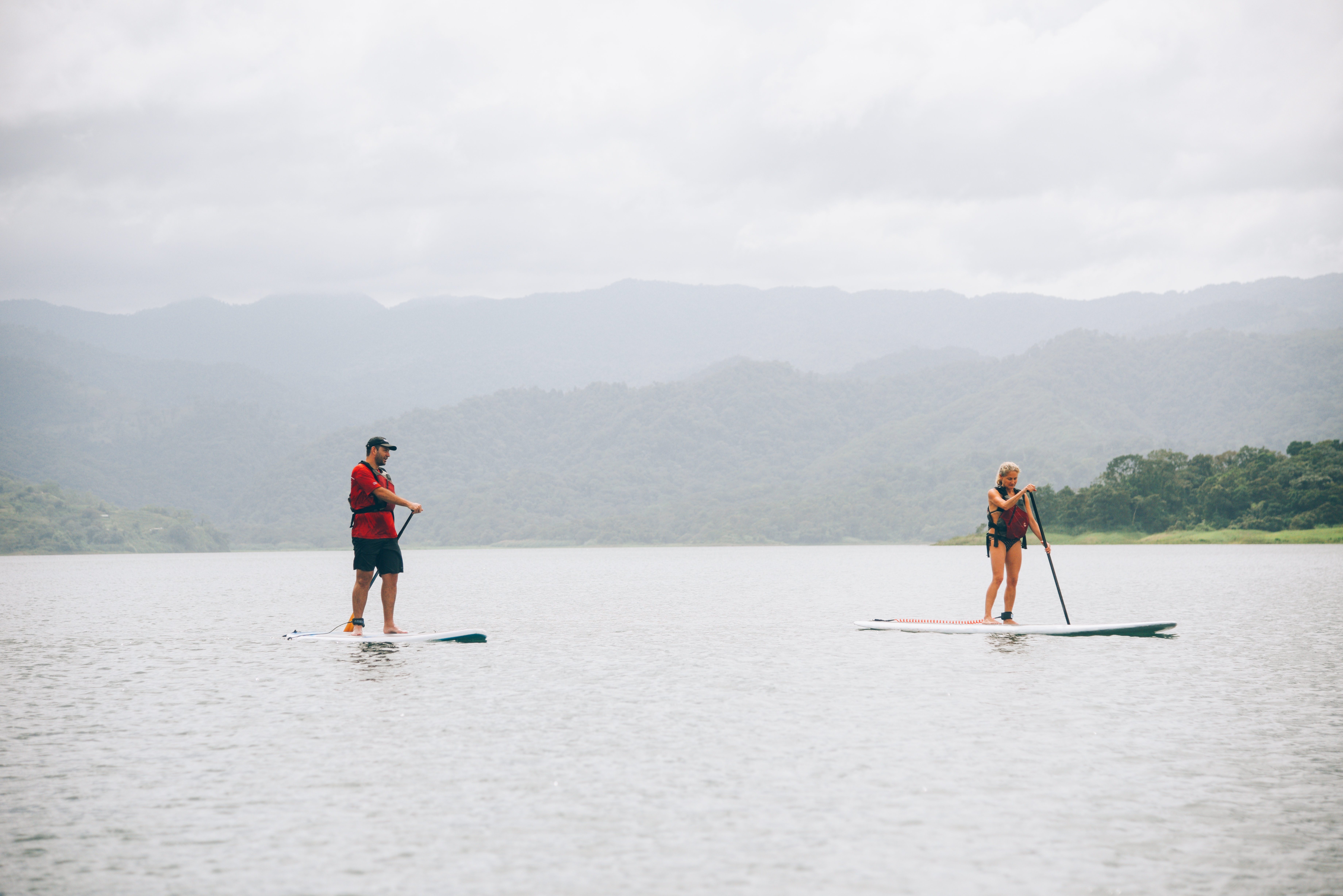 SUP in the Lake Arenal
