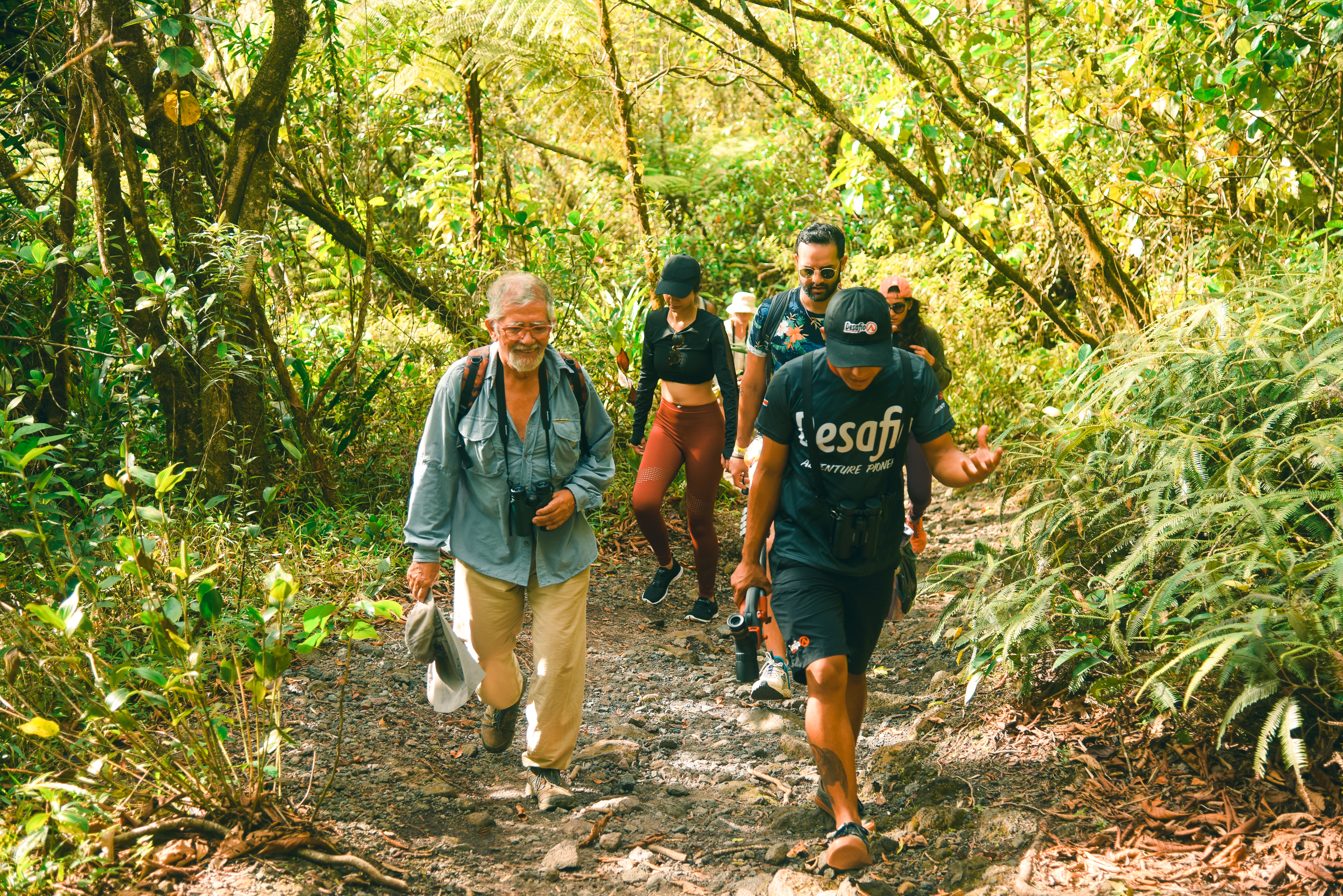 Explote the fascinating trails of the 1968 Volcano Park in Arenal!