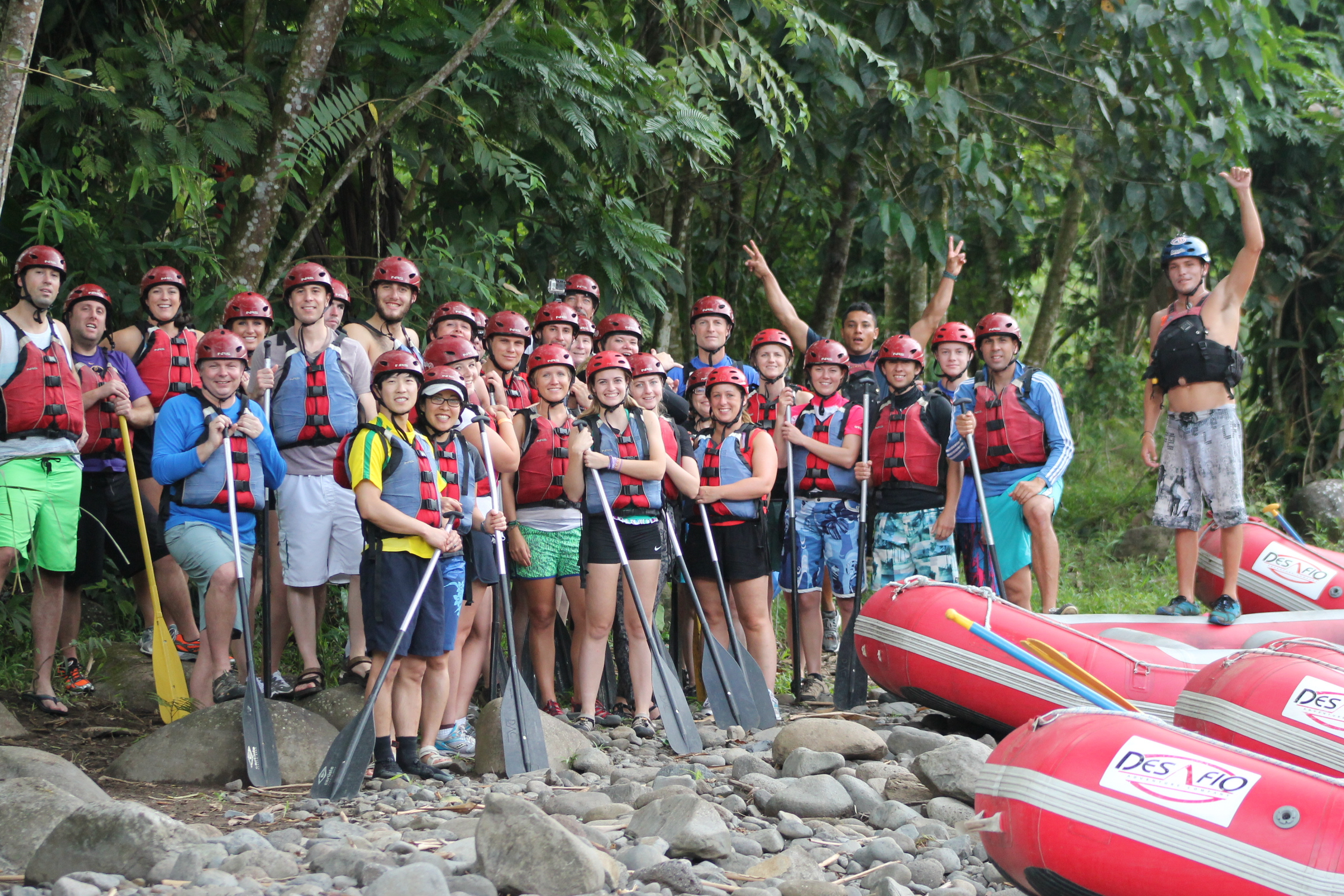 Rafting Serious Fun! Costa Rica!