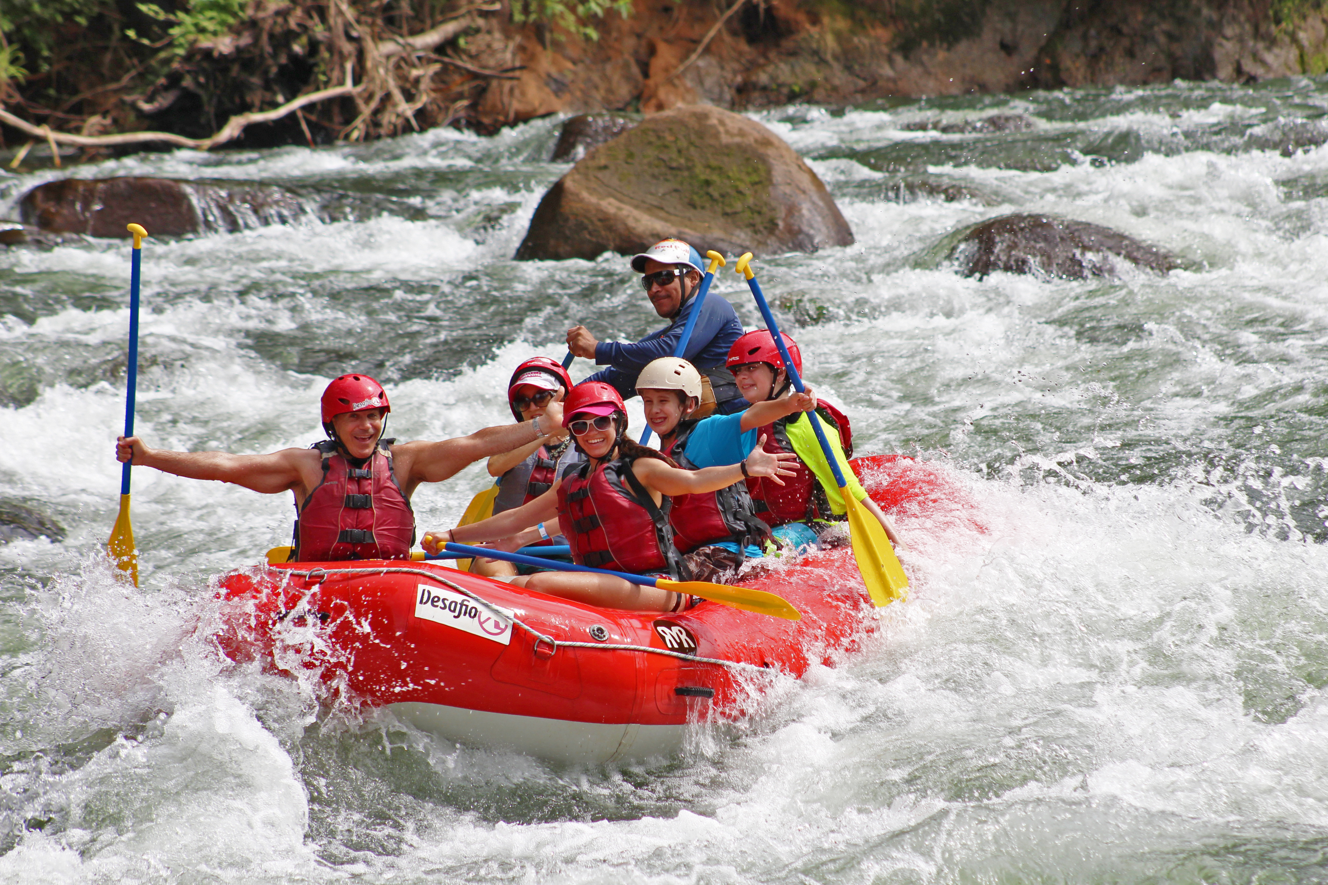 Exciting rafting trip on the Balsa River class 2-3
