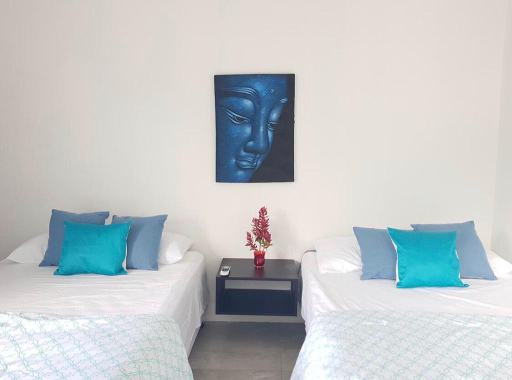 You will sleep amazingly in this luxury rental home in La Fortuna Arenal.