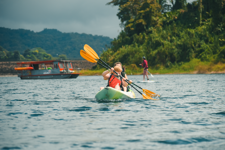 Kayak on the stunningly beautiful Lake Arenal!