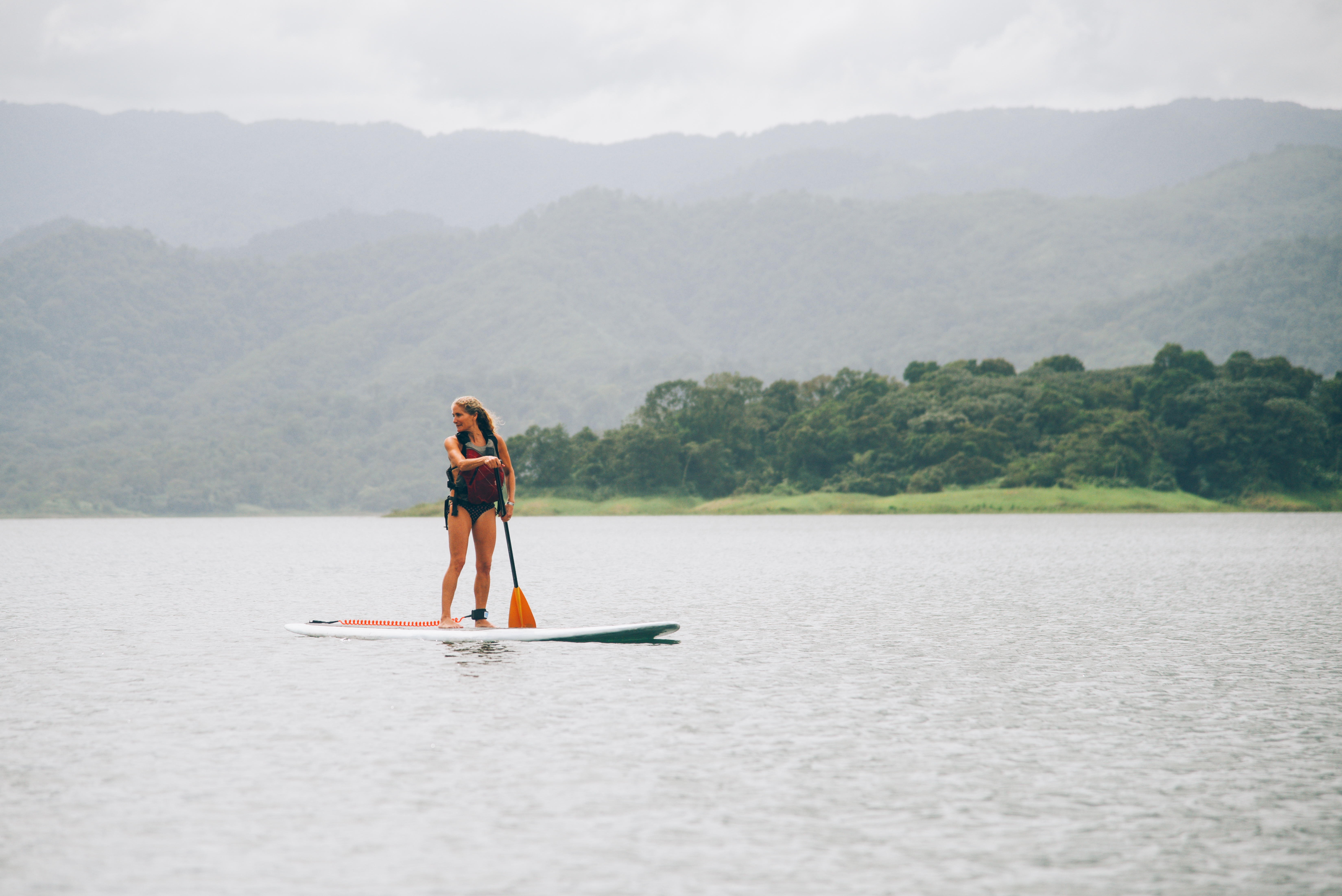 Walk on water! Costa Rica Vacation! Enjoying Nature!