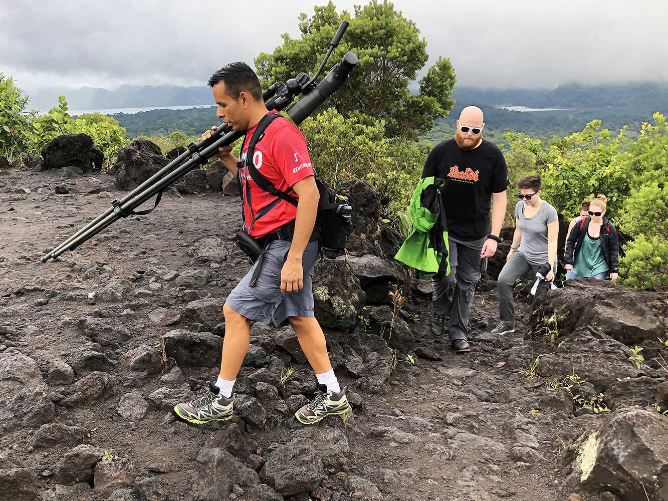 Arenal Volcano Walk