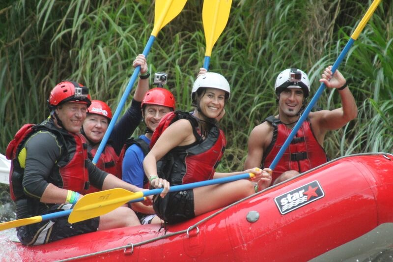 Rafting Sarapiqui with Desafio Adventure Company.
