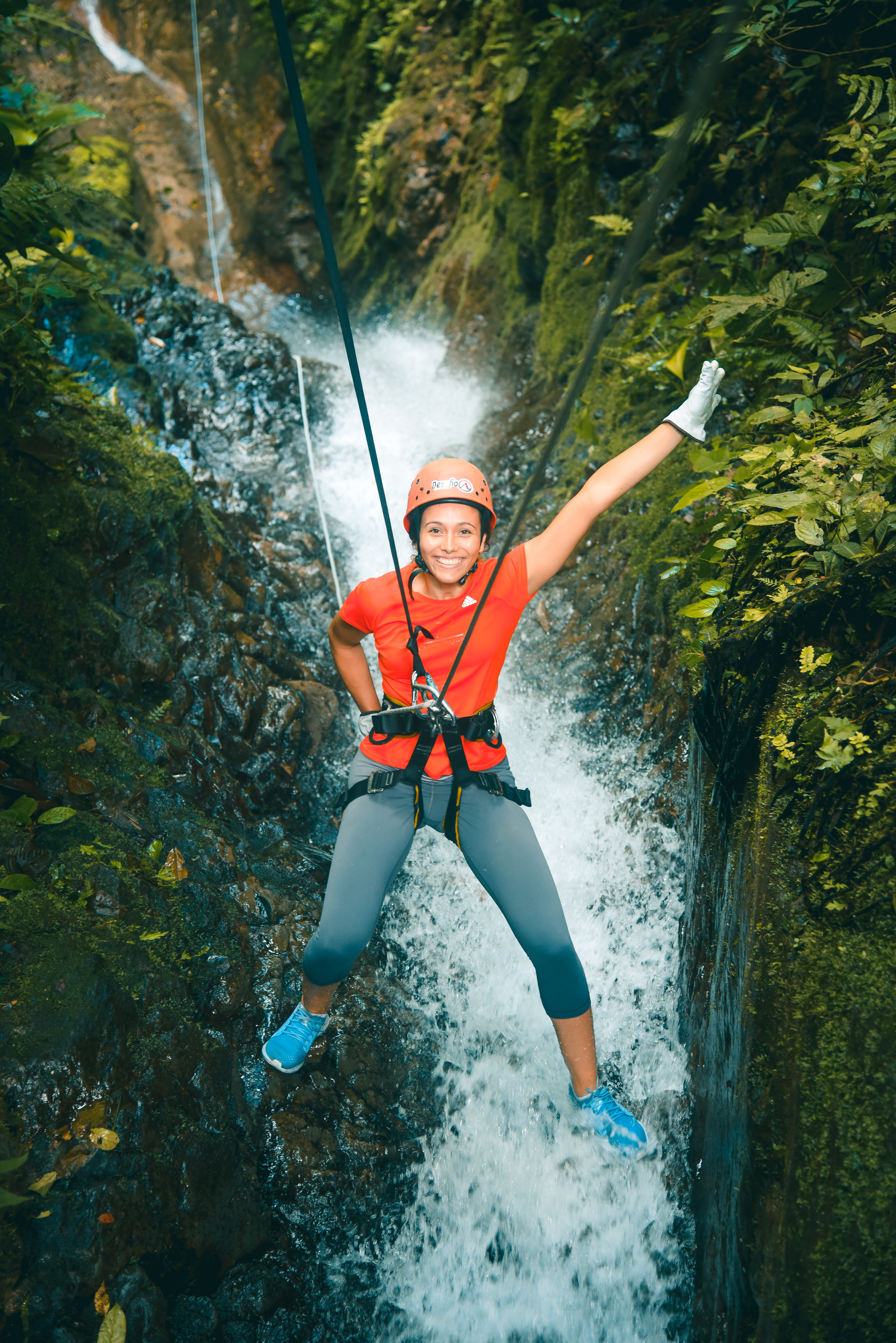 Canyoning in the Lost Canyon in Costa Rica