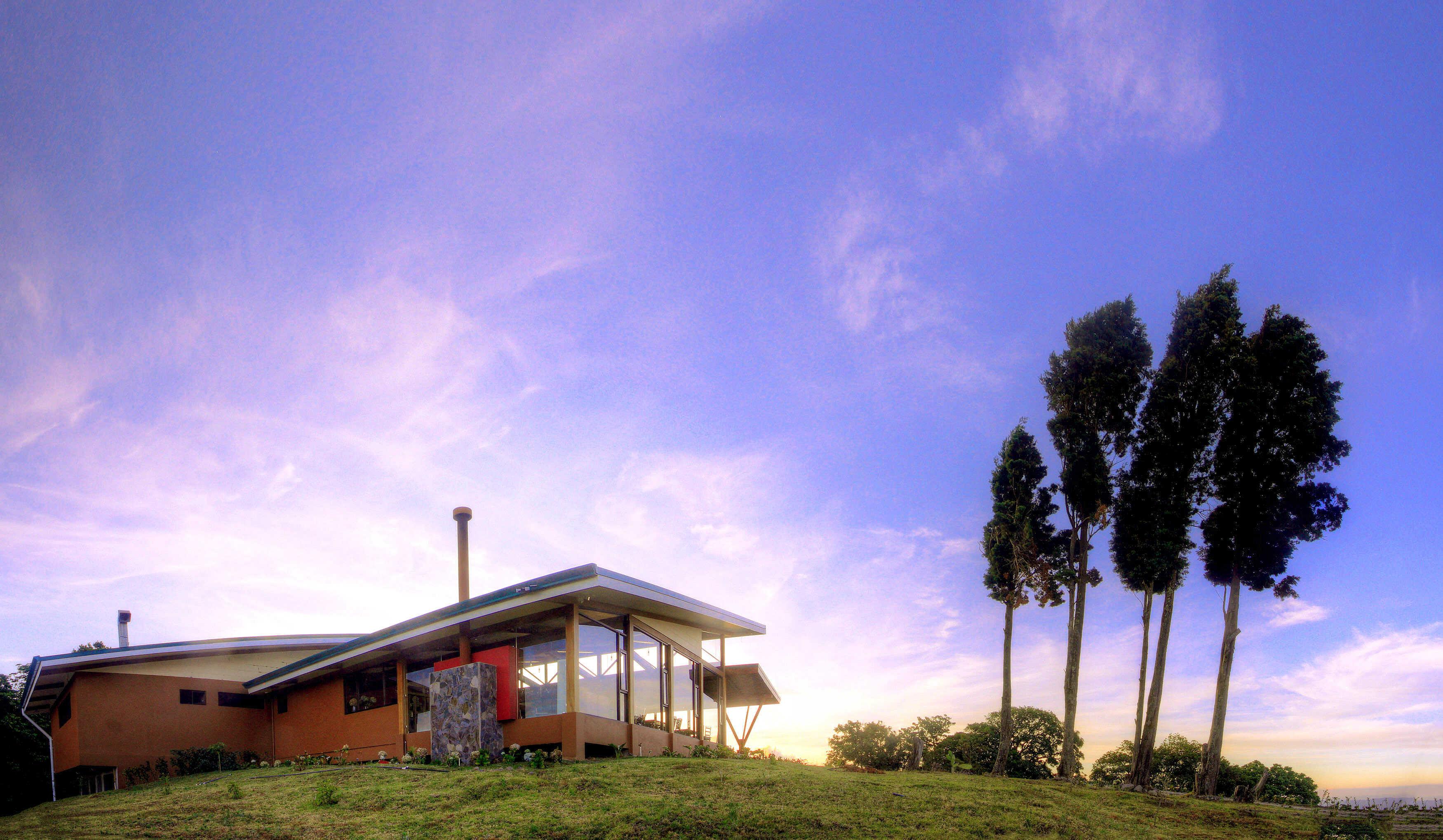 Quelites Restaurant overlooking the valley