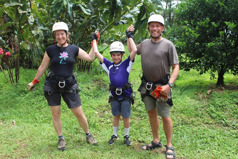 Families love Costa Rica with Desafio.
