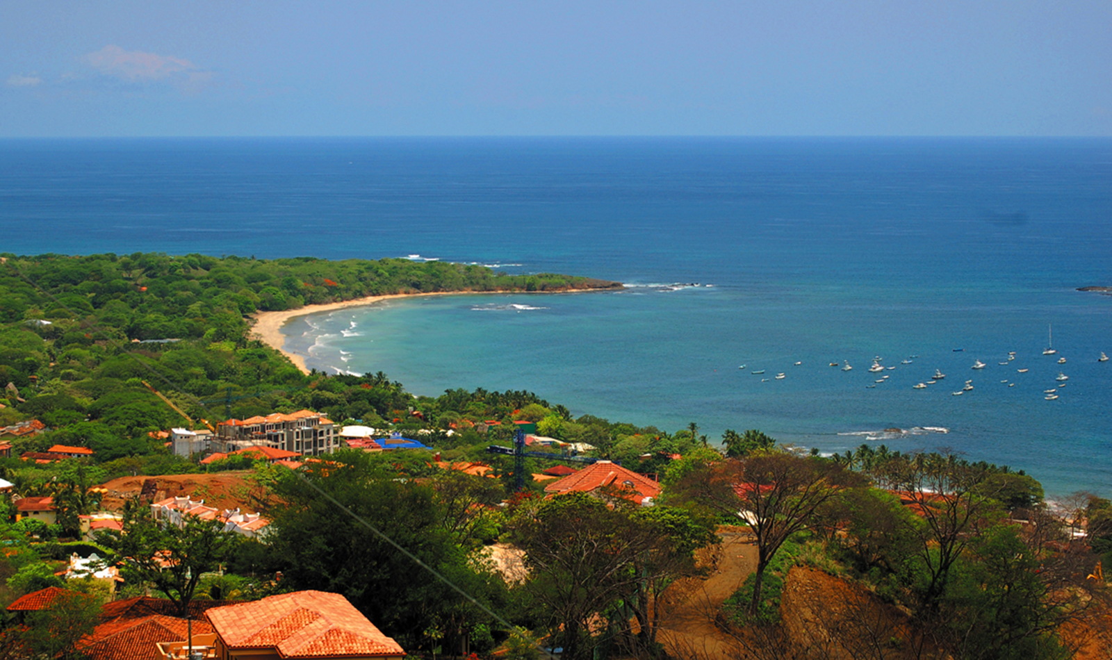 See the sites from above on a Costa Rica domestic flight with Desafio.