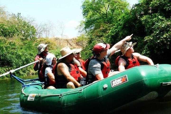 Safari float on the Tenorio River in Guanacaste