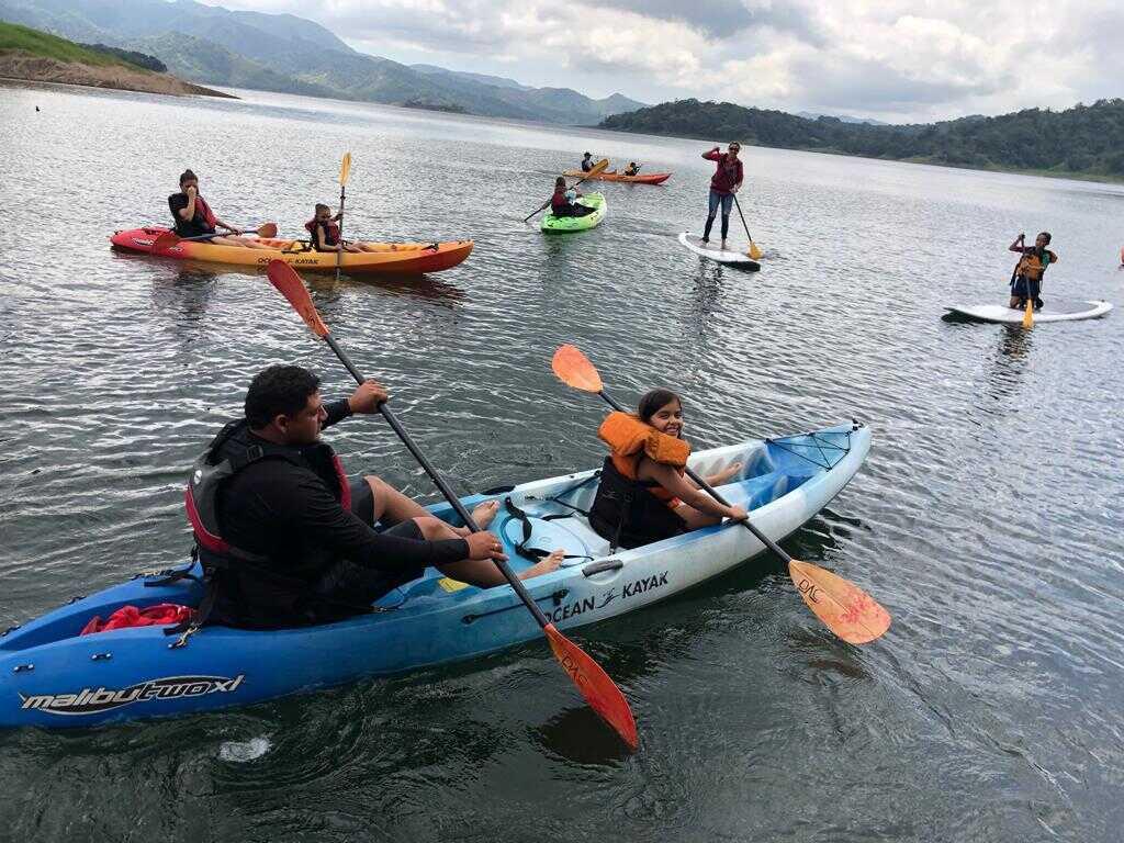 Kayak on Lake Arenal