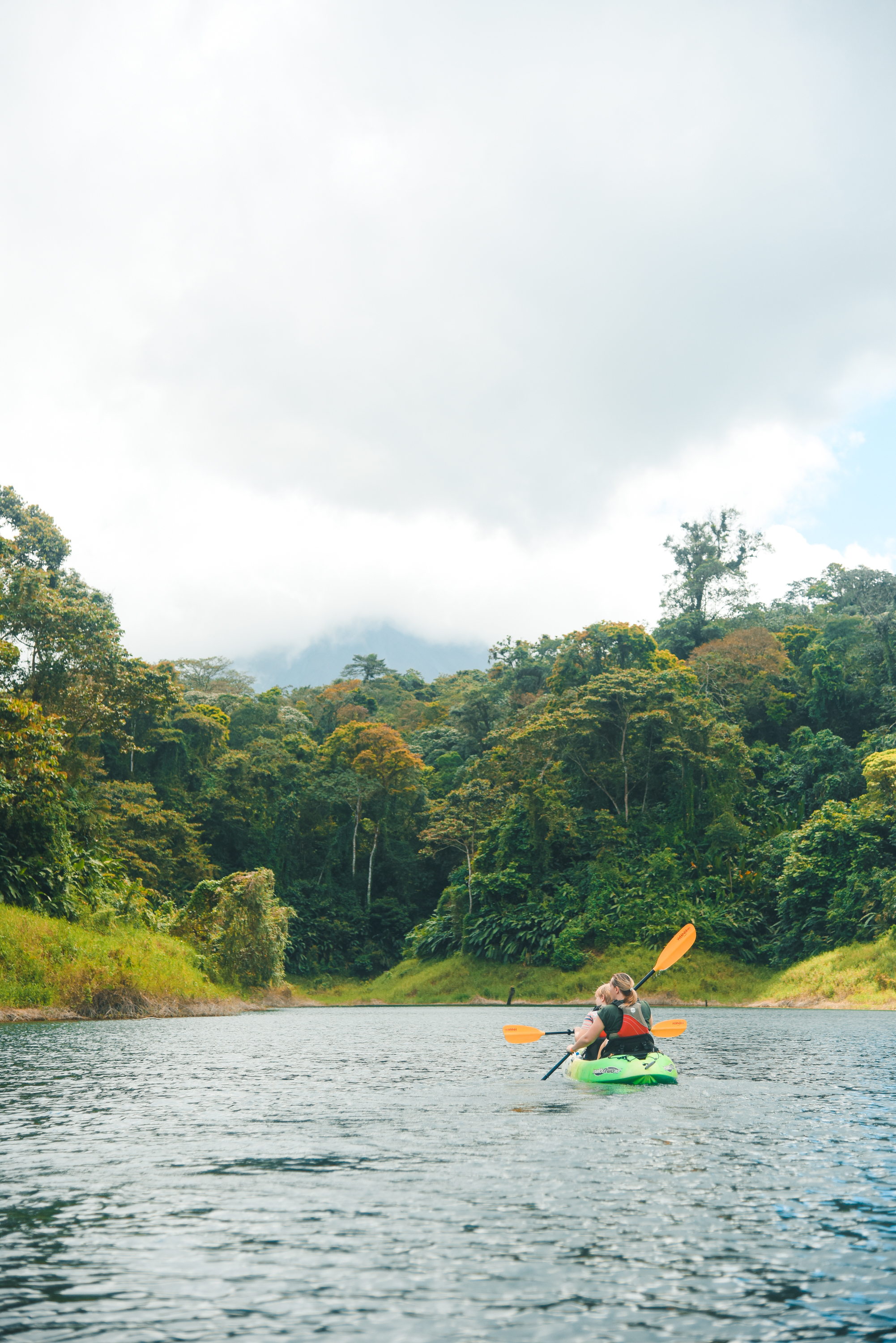 2 hour paddle on Central America's second-largest lake!