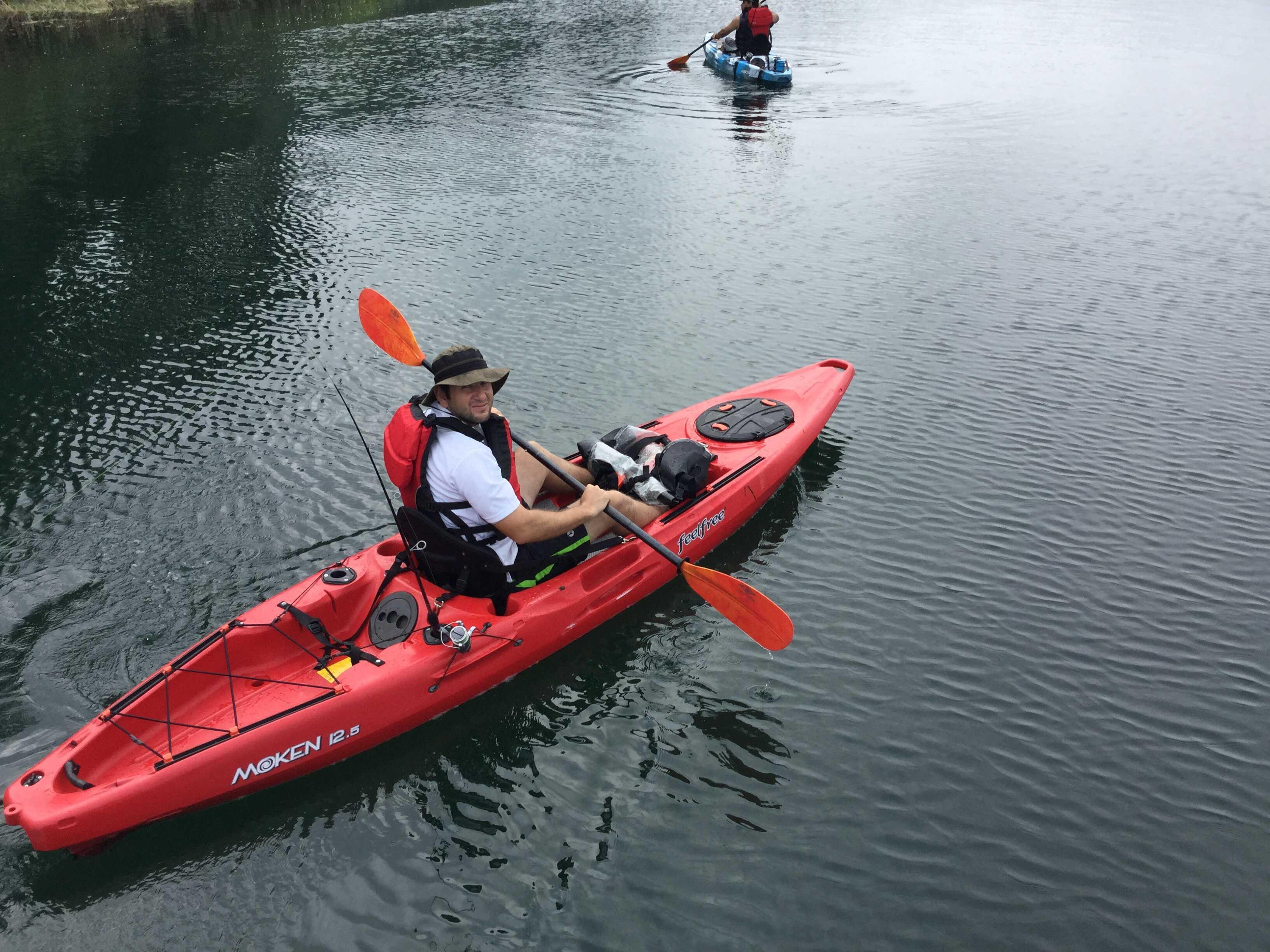 Kayaking on the Peñas Blancas River