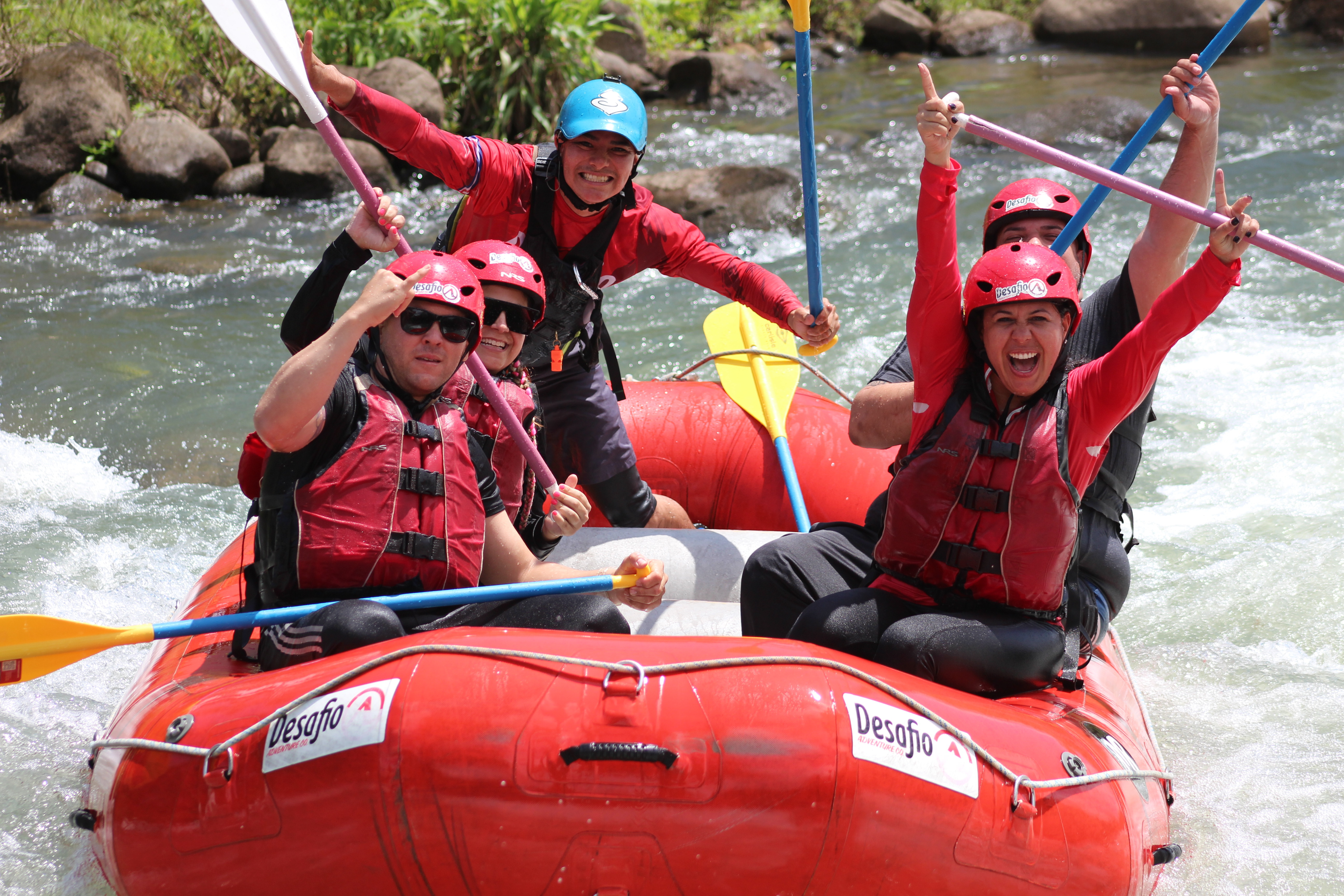 La fortuna to San Jose, Extreme White Water Rafting