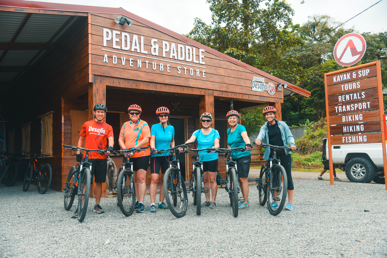 Mountain Bike Arenal Lake