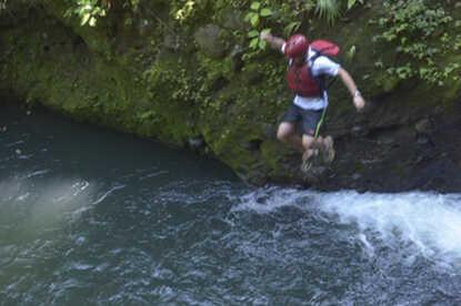 Go ahead and jump! Gravity Falls Waterfall Jumping.