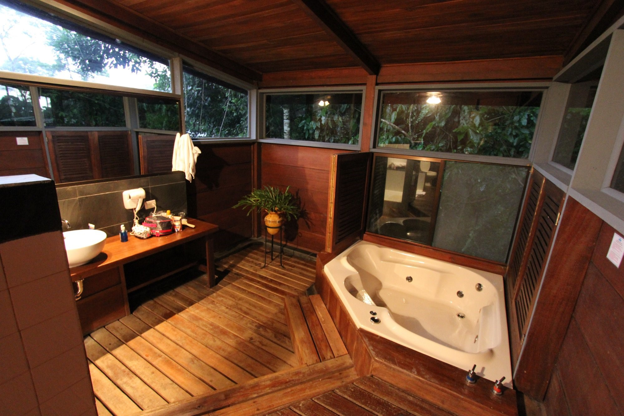 Overnight canyoning in Costa Rica with a stay at a rustic rainforest lodge.