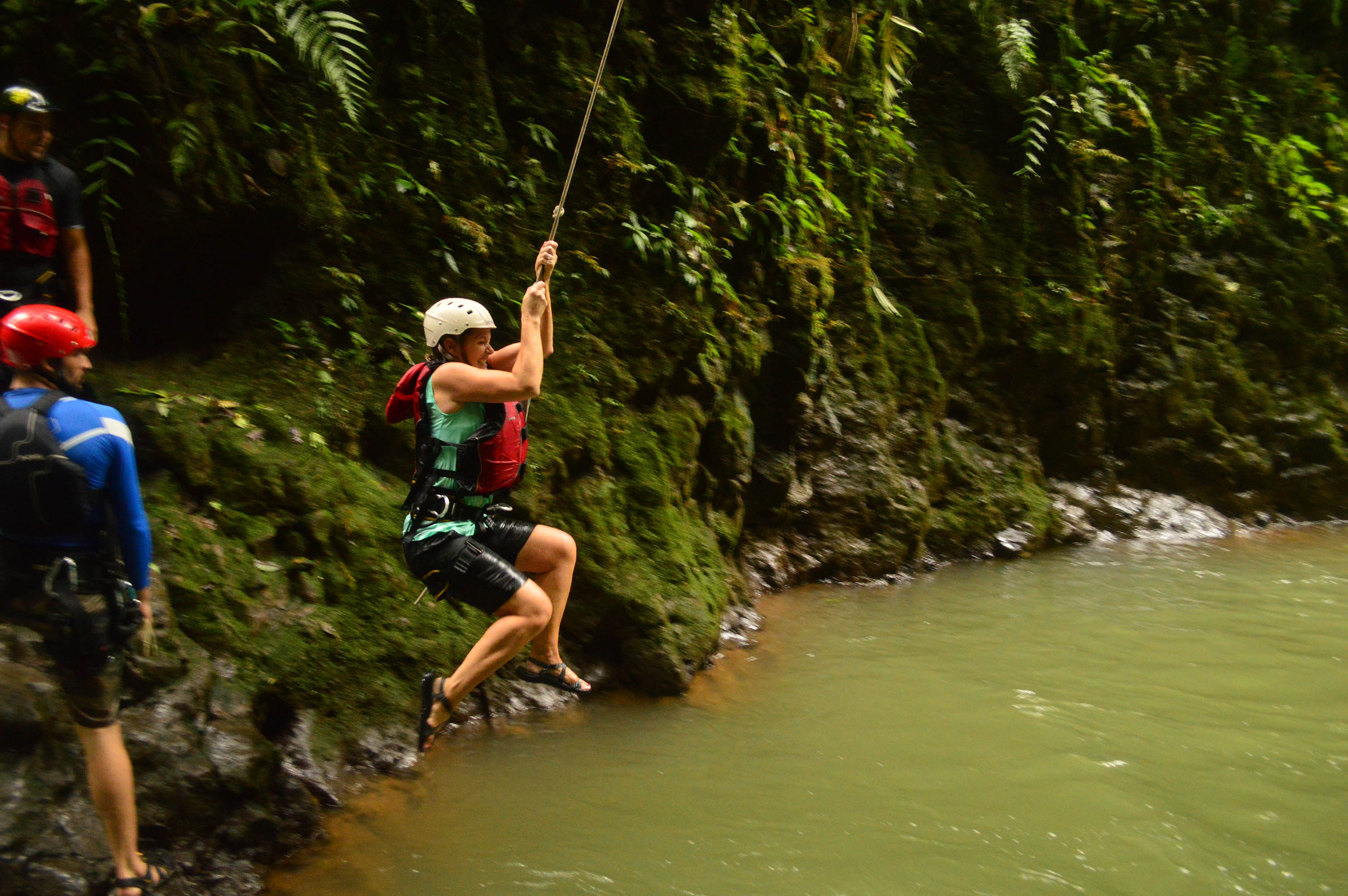 Costa Rica EXTREME private tour Gravity Falls Waterfall Jumping with Desafio