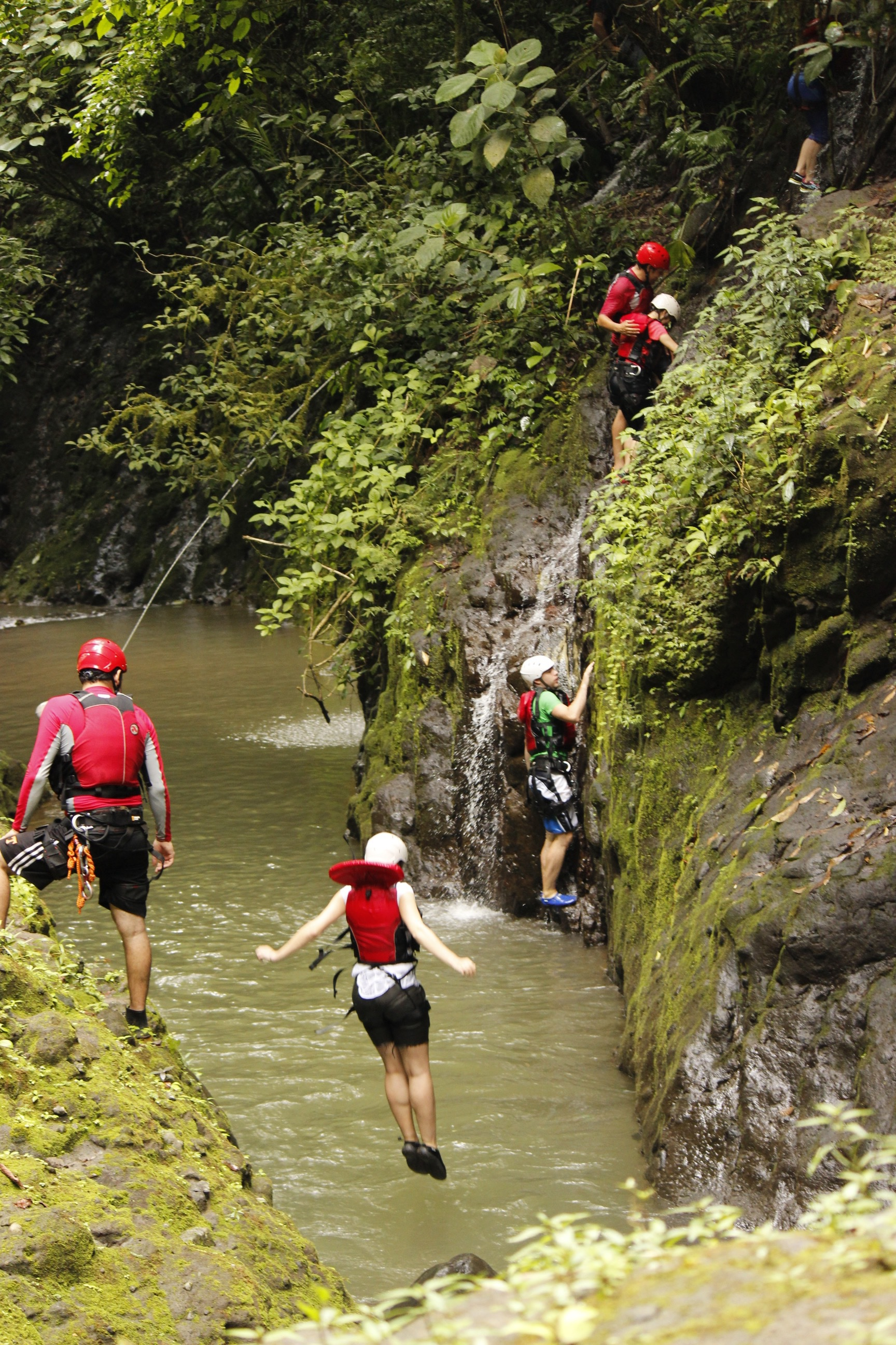 Costa Rica EXTREME private tour Gravity Falls Waterfall Jumping with Desafio! Costa Rica Vacation 2021