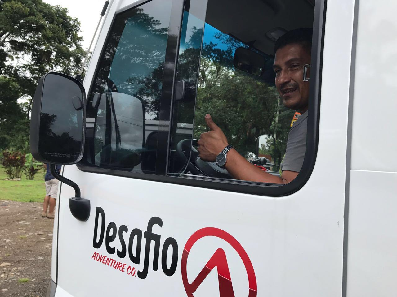 You can always count on Desafio transportation for providing reliable, safe, affordable and comfortable transfer service for anywhere in Costa Rica.