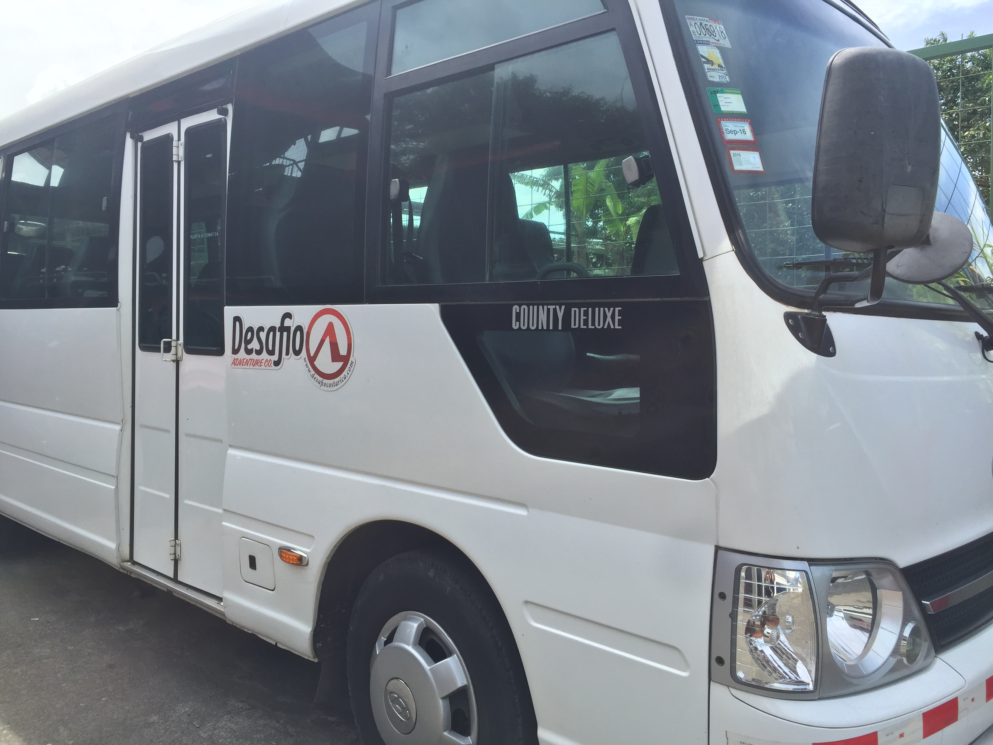 Guanacaste transfer from Arenal to Guanacaste Playa Conchal.