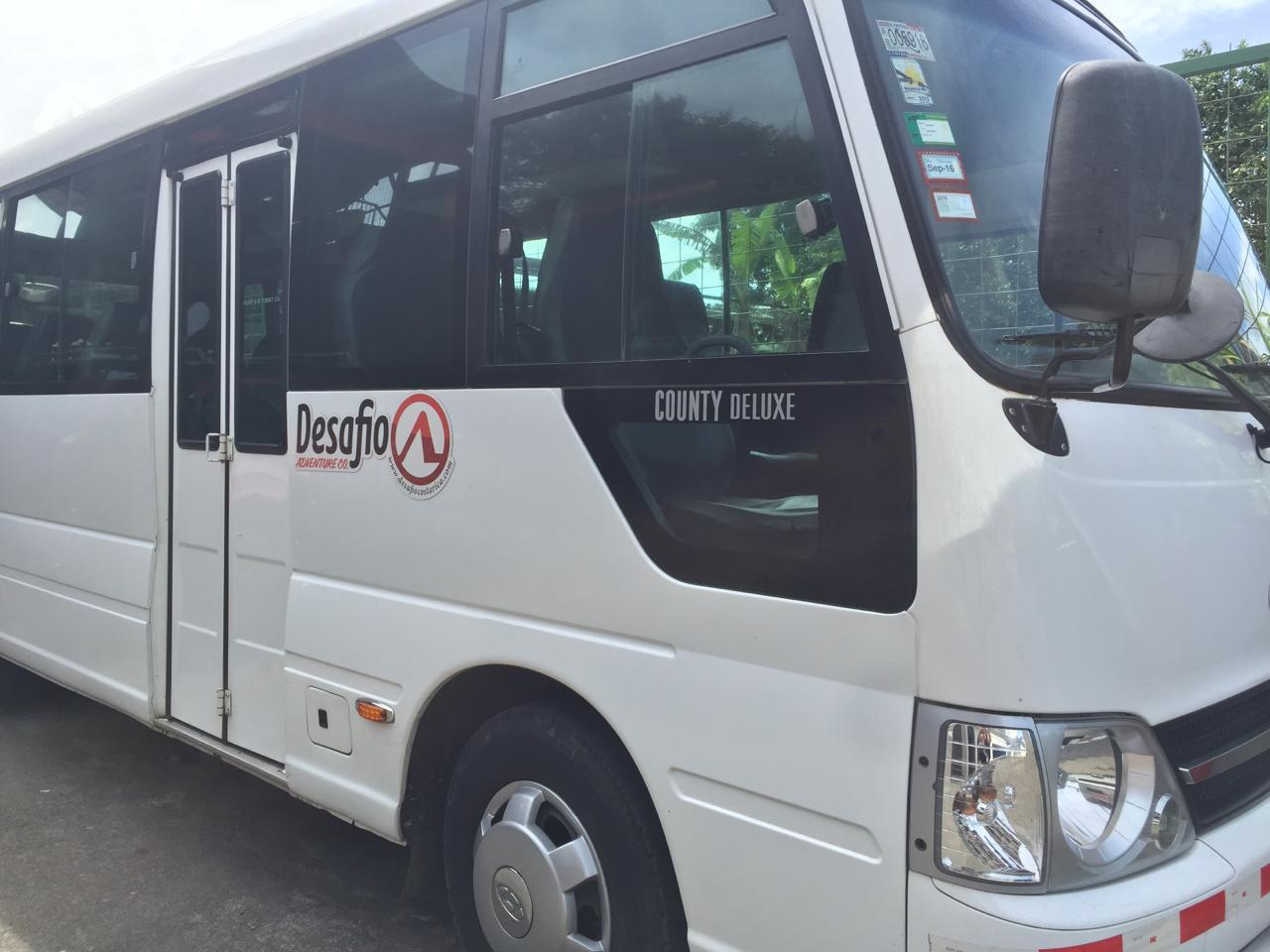 You can always count on Desafio transportation for providing reliable, safe, affordable and comfortable transfer service for anywhere in Costa Rica