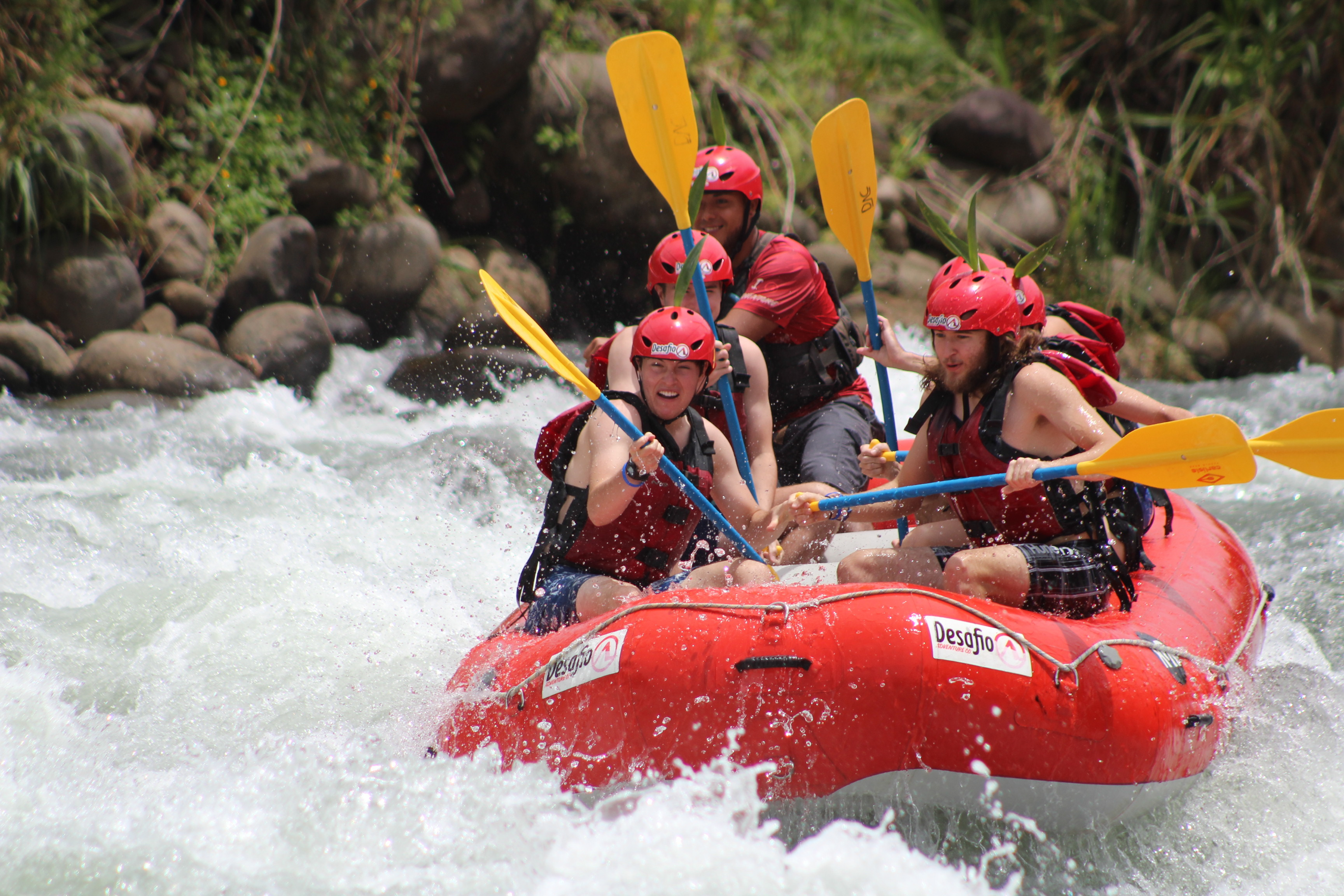 So much fun rafting in Costa Rica with Desafio.