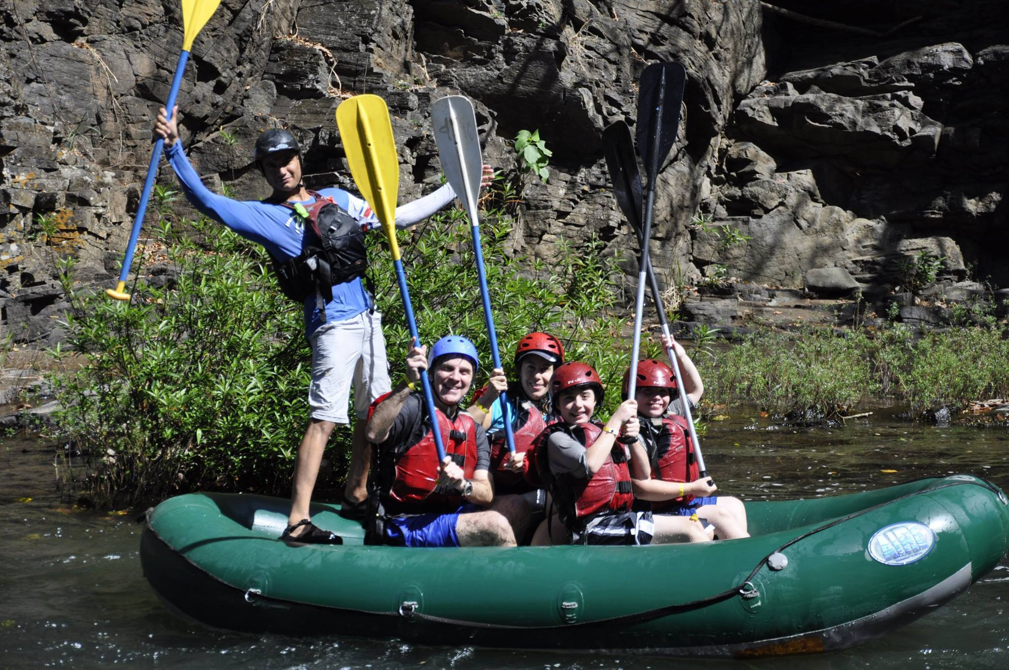 Rafting in Guanacaste with Tenorio Adventure Company.