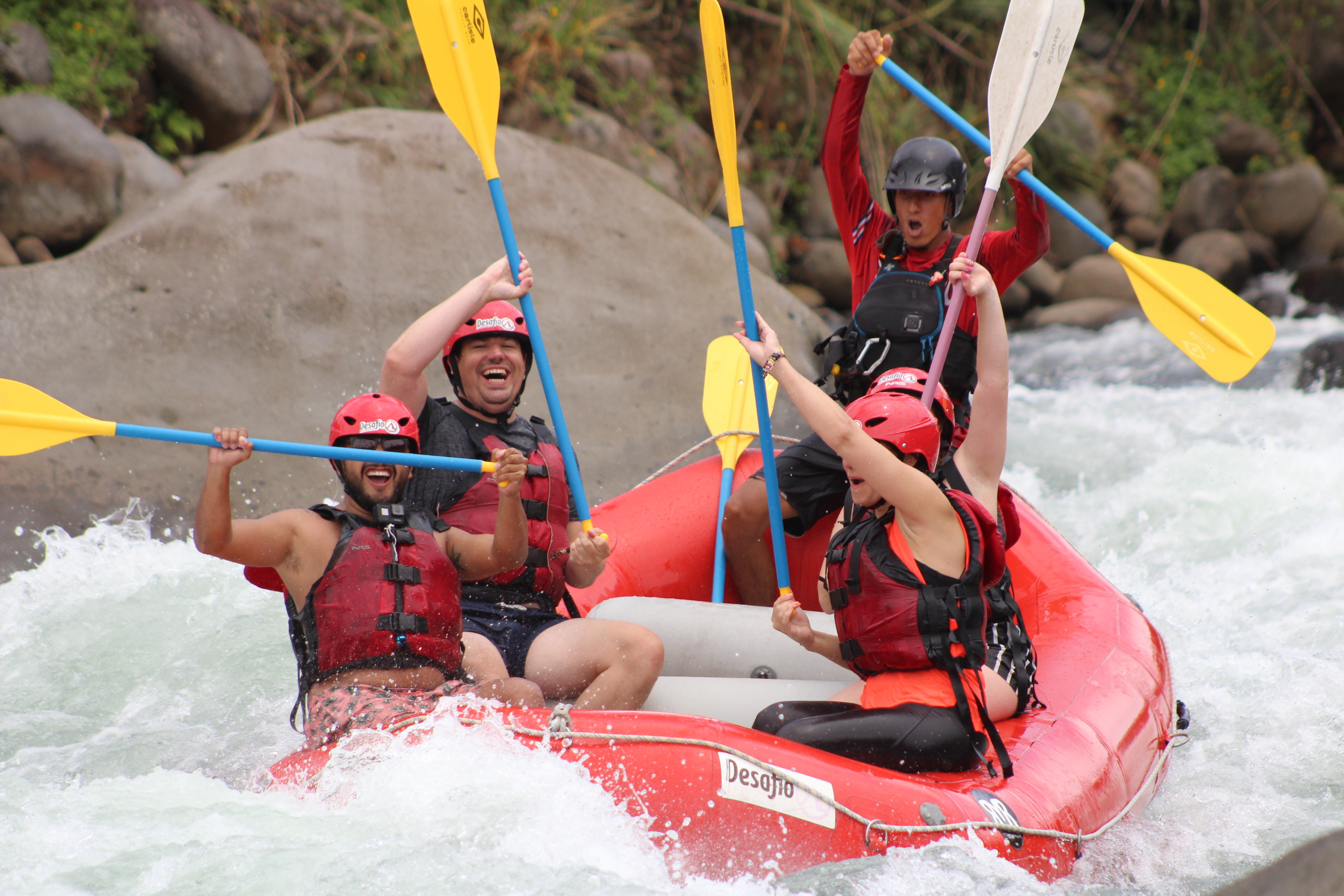 Get ready to enjoy one of Costa Rica most exuberant and exciting rivers