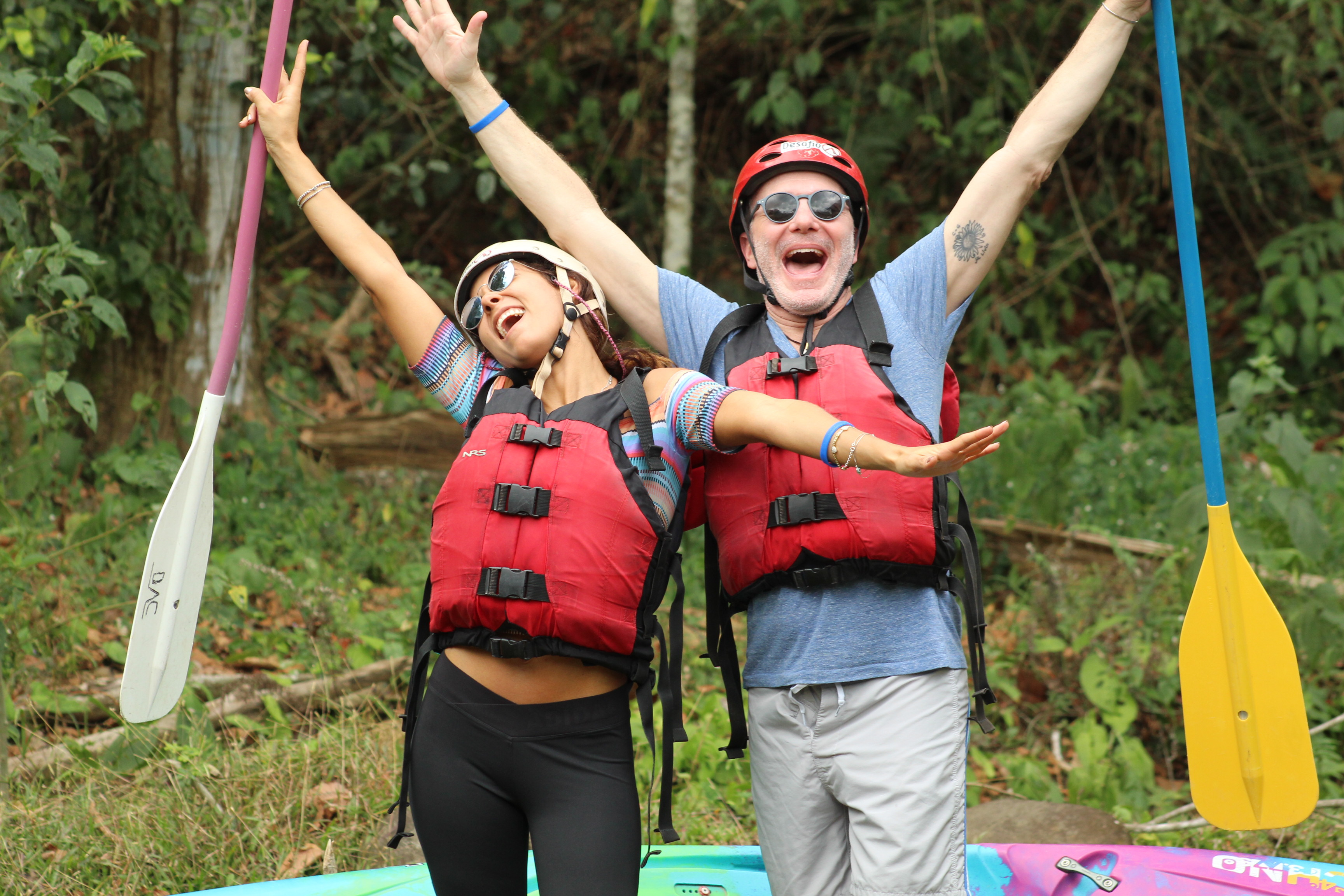 The best one day tour from San Jose white water rafting on the Sarapiqui River.