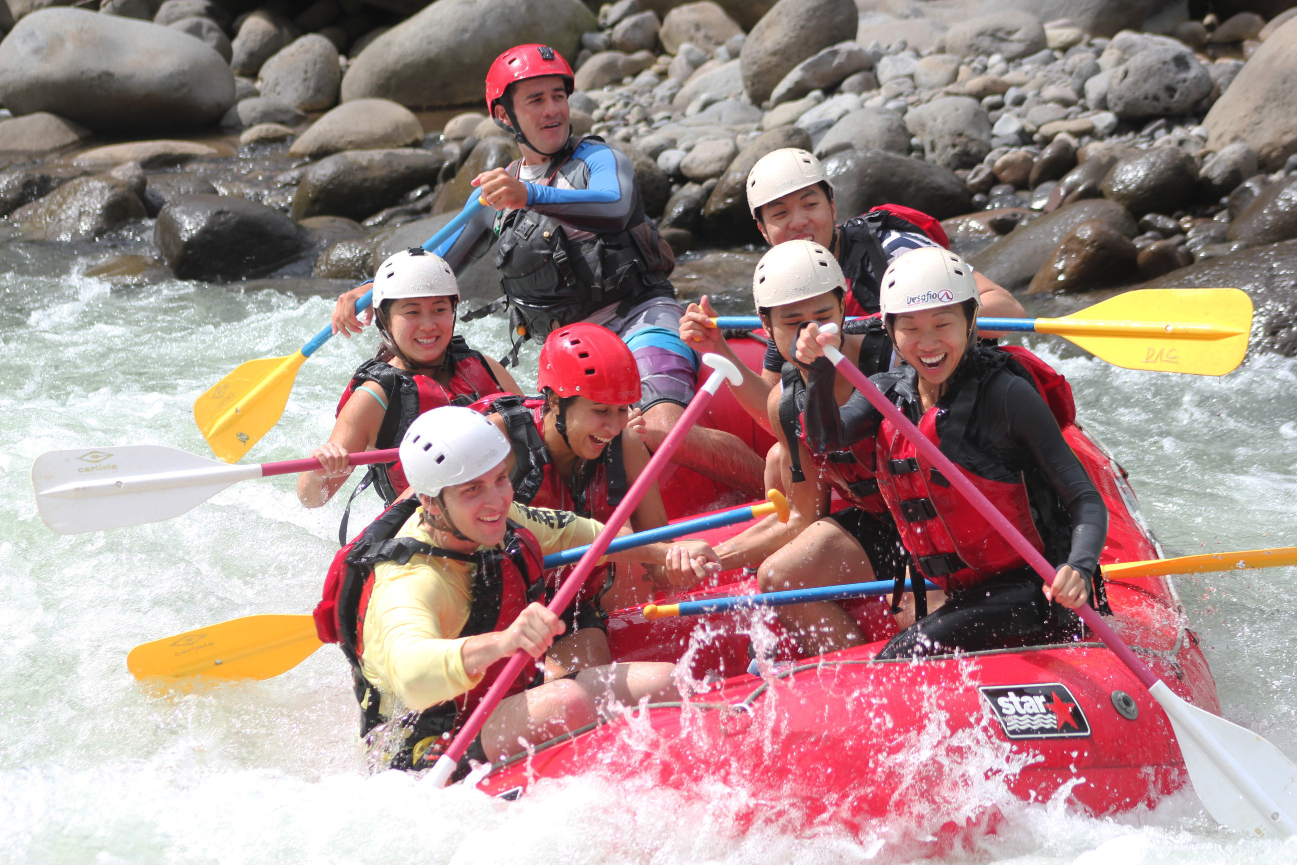 San Jose to La Fortuna Arenal Rafting on the Balsa River Class 2-3