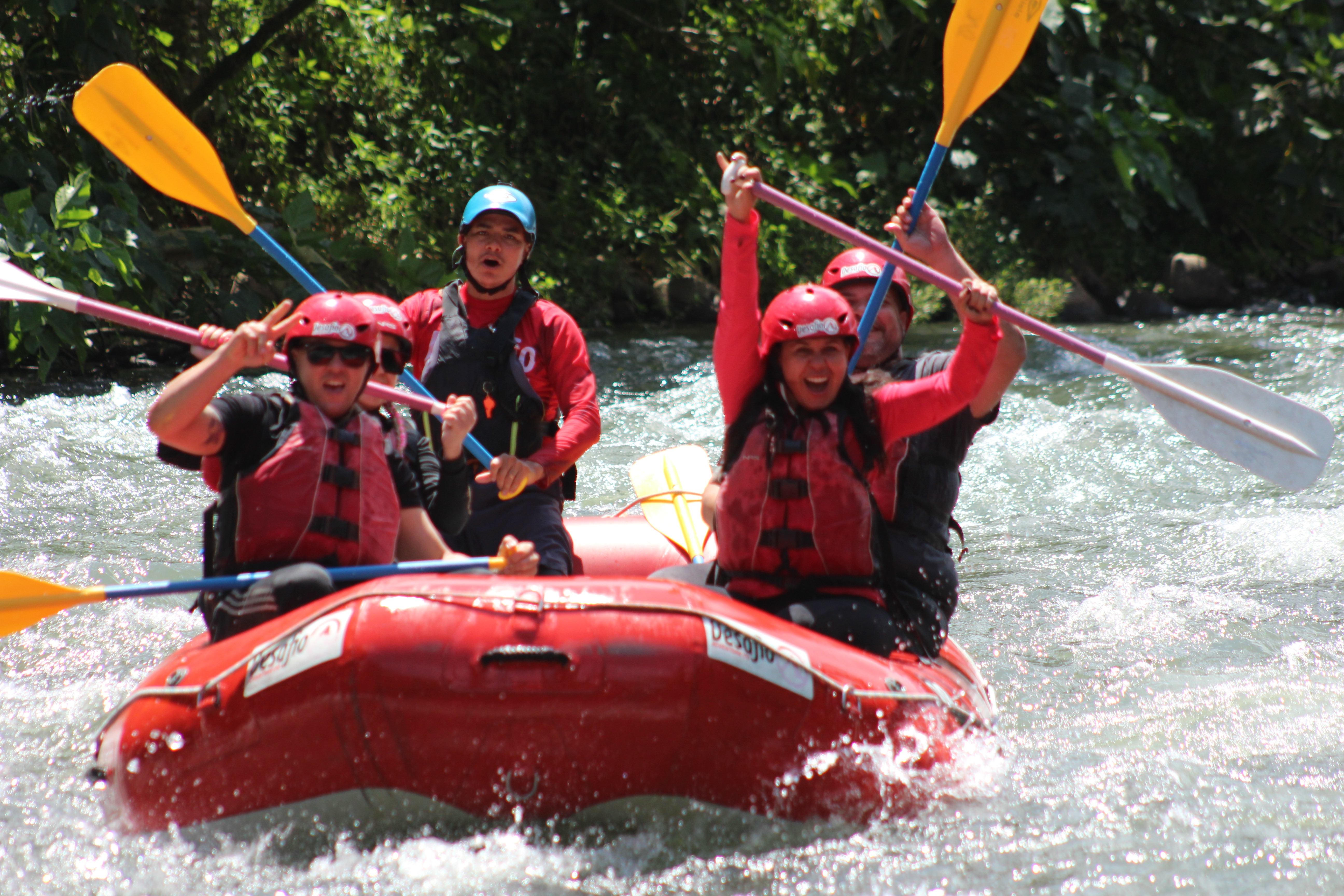 Go rafting on the Sarapiqui River when you travel fromSan Jose to La Fortuna Arenal! The Sarapiqui River is considered one of Costa Rica best rivers for rafting!