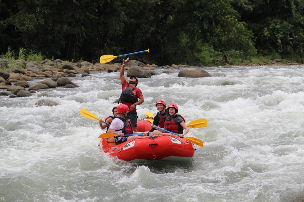 A great option for Team Building Adventure Rafting in Costa Rica!