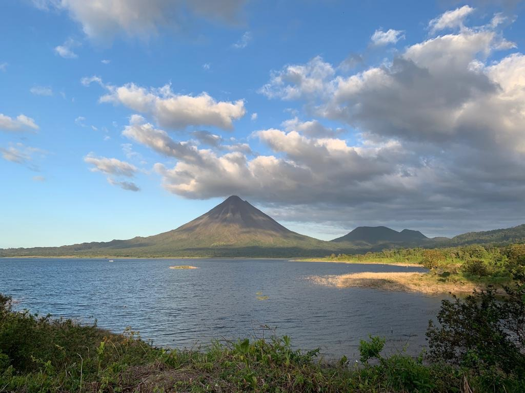 Get amazing views of the Arenal Volcano on this unique boat transfer to Guanacaste