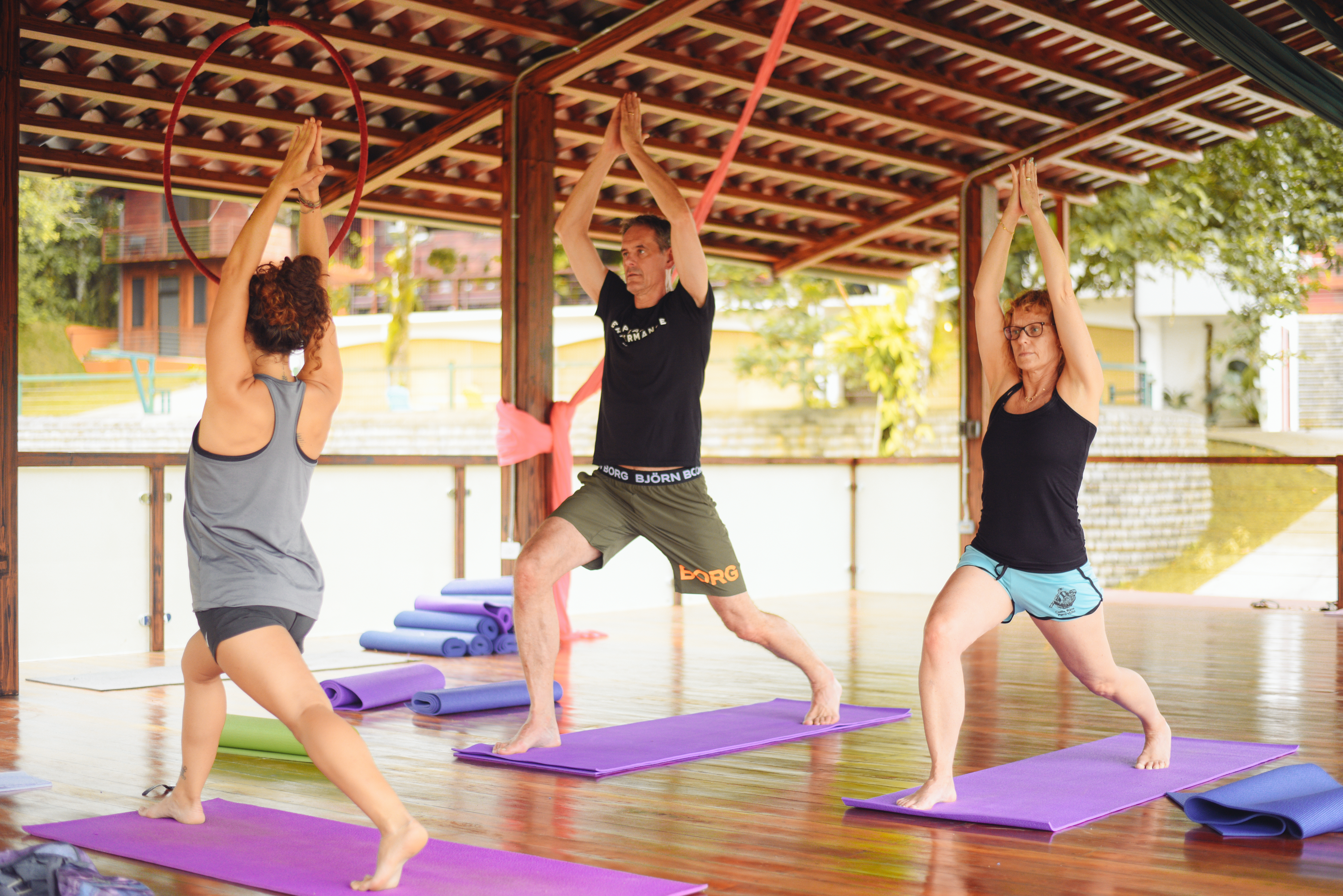 Yoga Class in Costa Rica