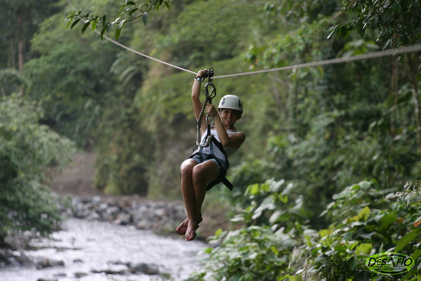 Try the best canopy ziplining tour in Arenal.
