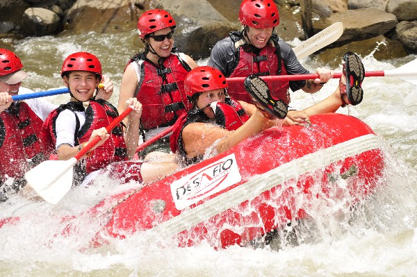 Rafting in Costa Rica is the best!