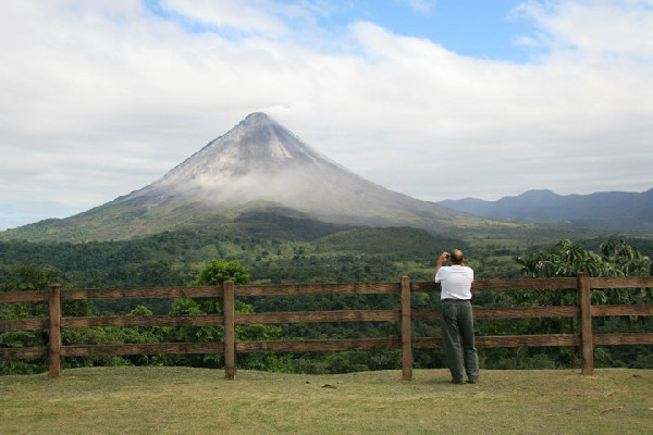 One of the best view points of the Arenal Volcano!