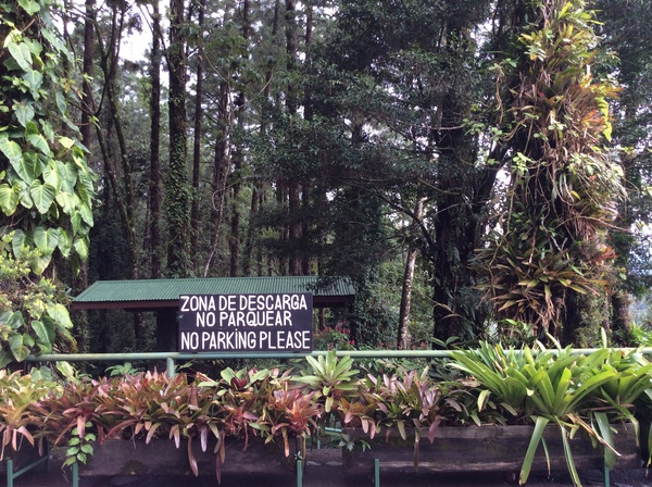 The Arenal Observatory Lodge near La Fortuna is surrounded by beautiful gardens and pristine rainforest.