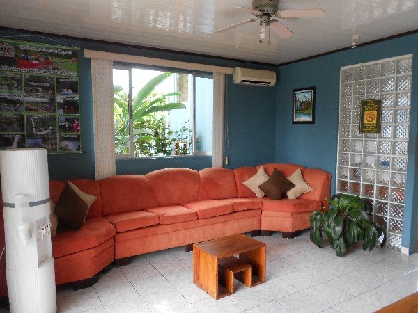 Arenal Rabfer is a friendly hotel in downtown La Fortuna.