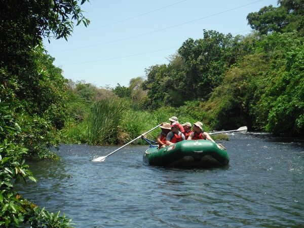 Safari Float Desafio on the Rio Tenorio in Guanacaste.