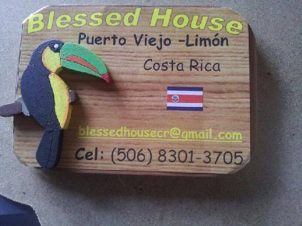 Blessed House is a family-run hotel on the Caribbean Coast.