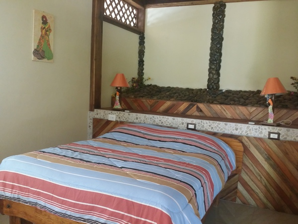 Upgraded rooms at Blessed House are comfortable.
