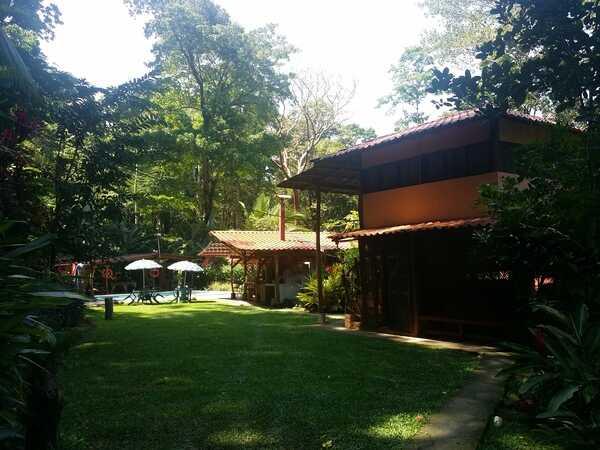 Blessed House near Puerto Viejo has nice gardens.